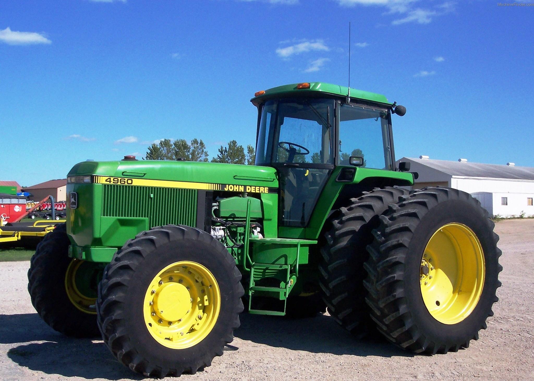 1992 John Deere 4960 Tractors - Row Crop (+100hp) - John ...