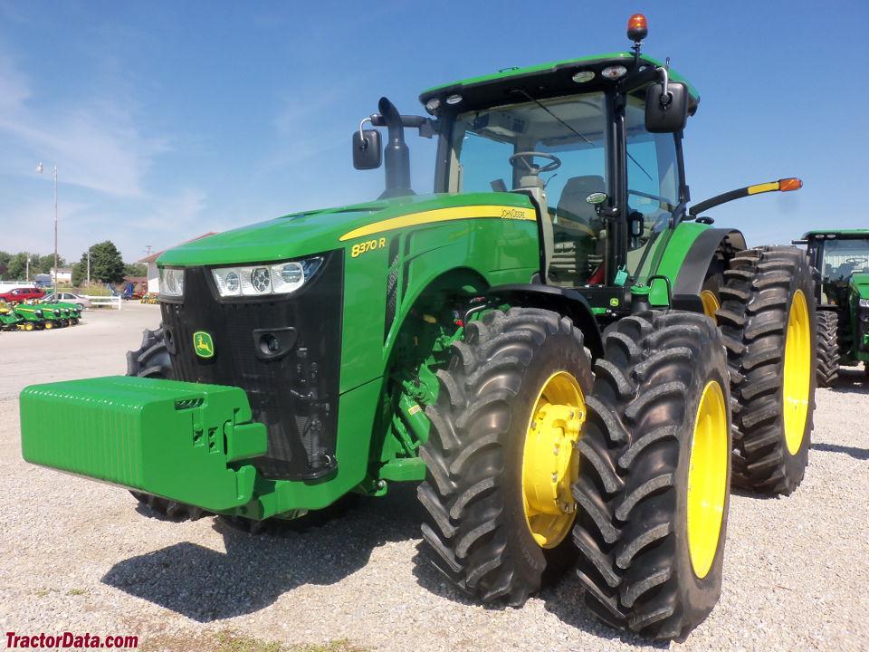 TractorData.com John Deere 8370R tractor photos information