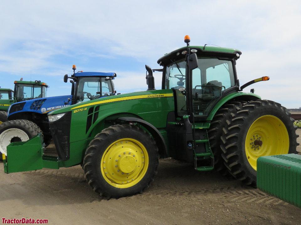 TractorData.com John Deere 8270R tractor photos information