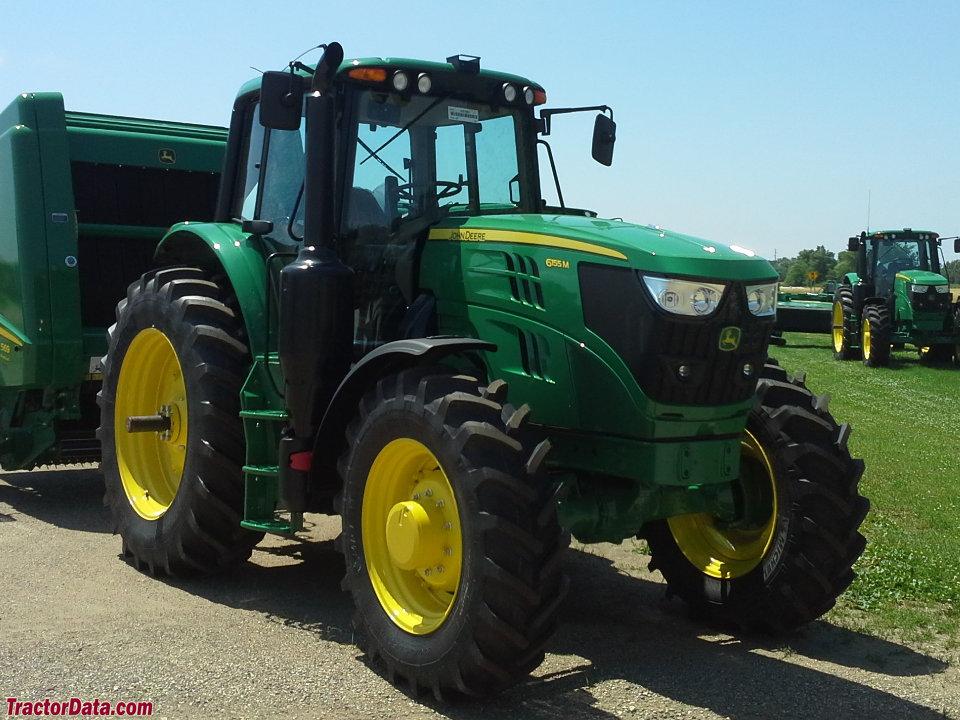 TractorData.com John Deere 6155M tractor photos information