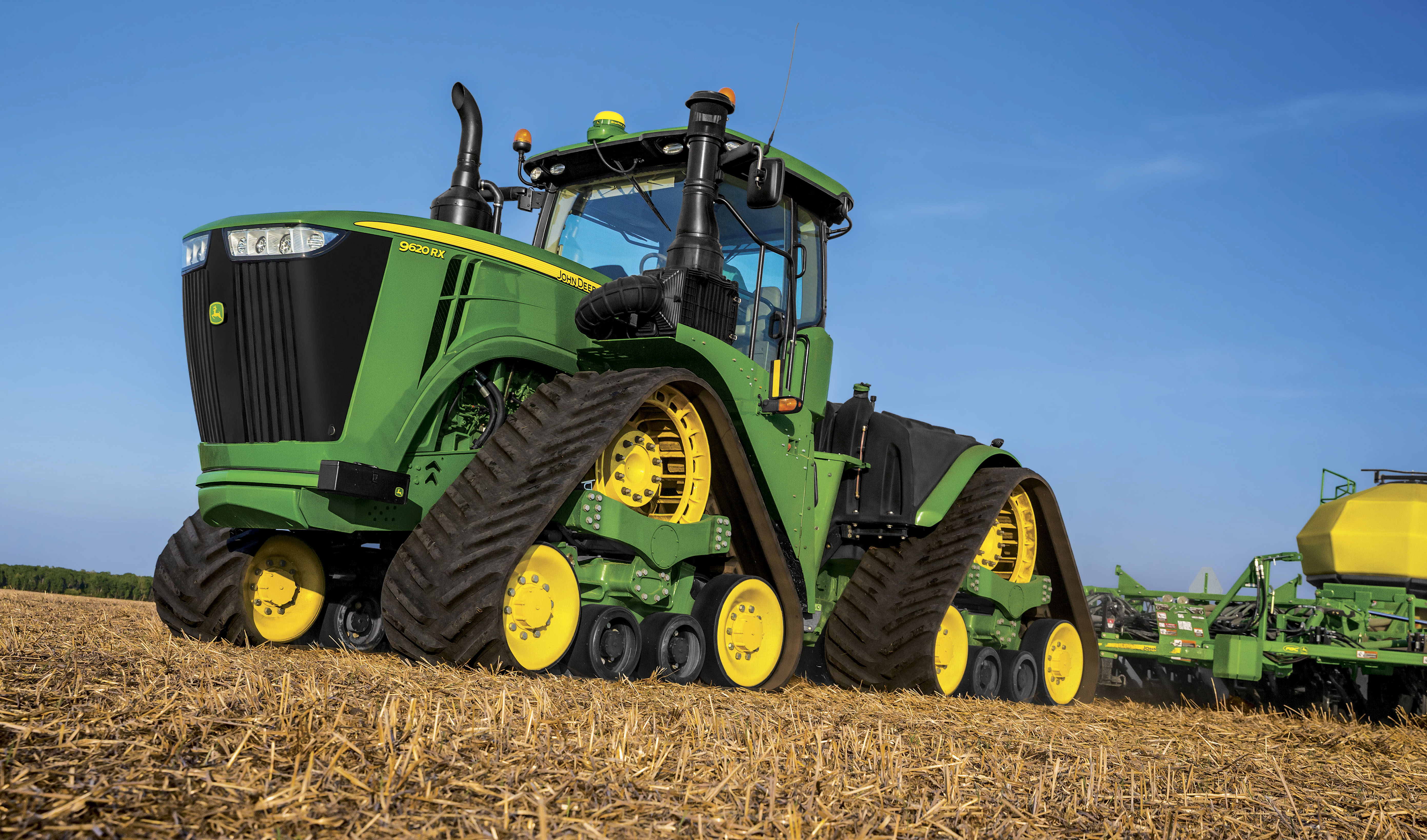 John Deere Unveils New High-Horsepower 4-Track 9RX Series ...