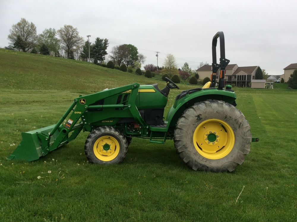 John Deere 4044M Compact Utility Tractor w/ D170 Loader ...