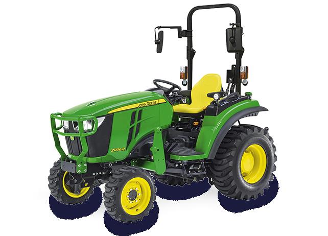 2036R | Serie 2R | Kompakttraktoren | John Deere DE
