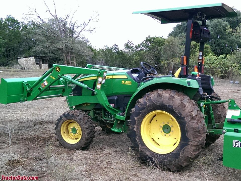 TractorData.com John Deere 4052M tractor photos information