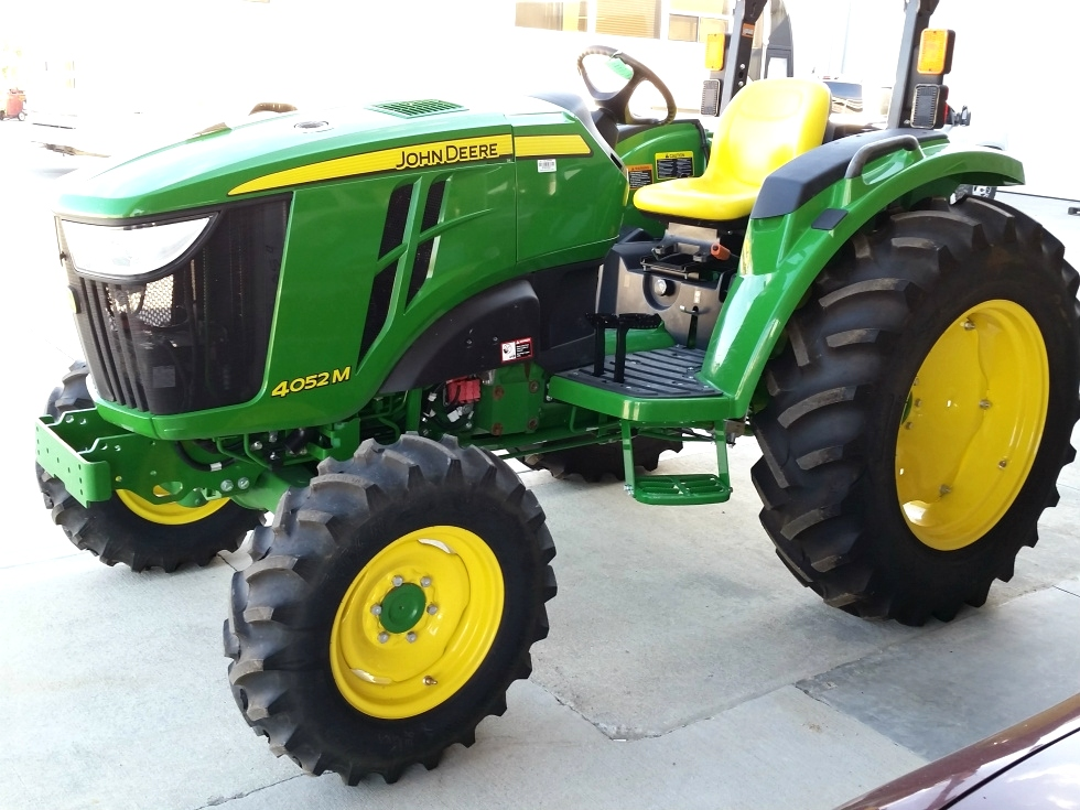 RV Parts 2015 JOHN DEERE 4052M 4X4 TRACTOR FOR SALE Work ...