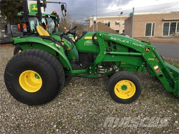 Used John Deere 4066M compact tractors Year: 2015 Price ...
