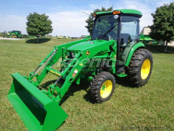 John Deere 4044R Compact Tractor, 824842, in Urbana, Ohio