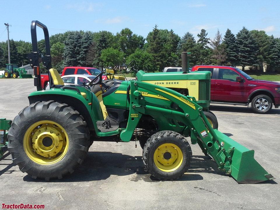 TractorData.com John Deere 4320 tractor photos information