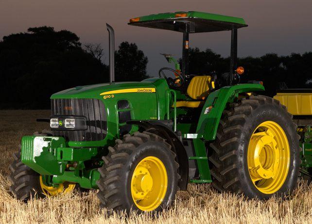 John Deere 6110D 6D Medianos (100 a 190 hp)