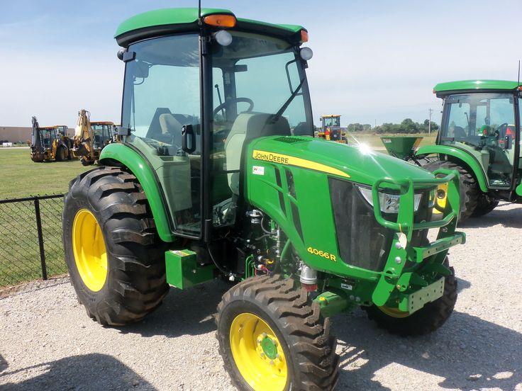 John Deere 4066R cab tractor | John Deere equipment ...