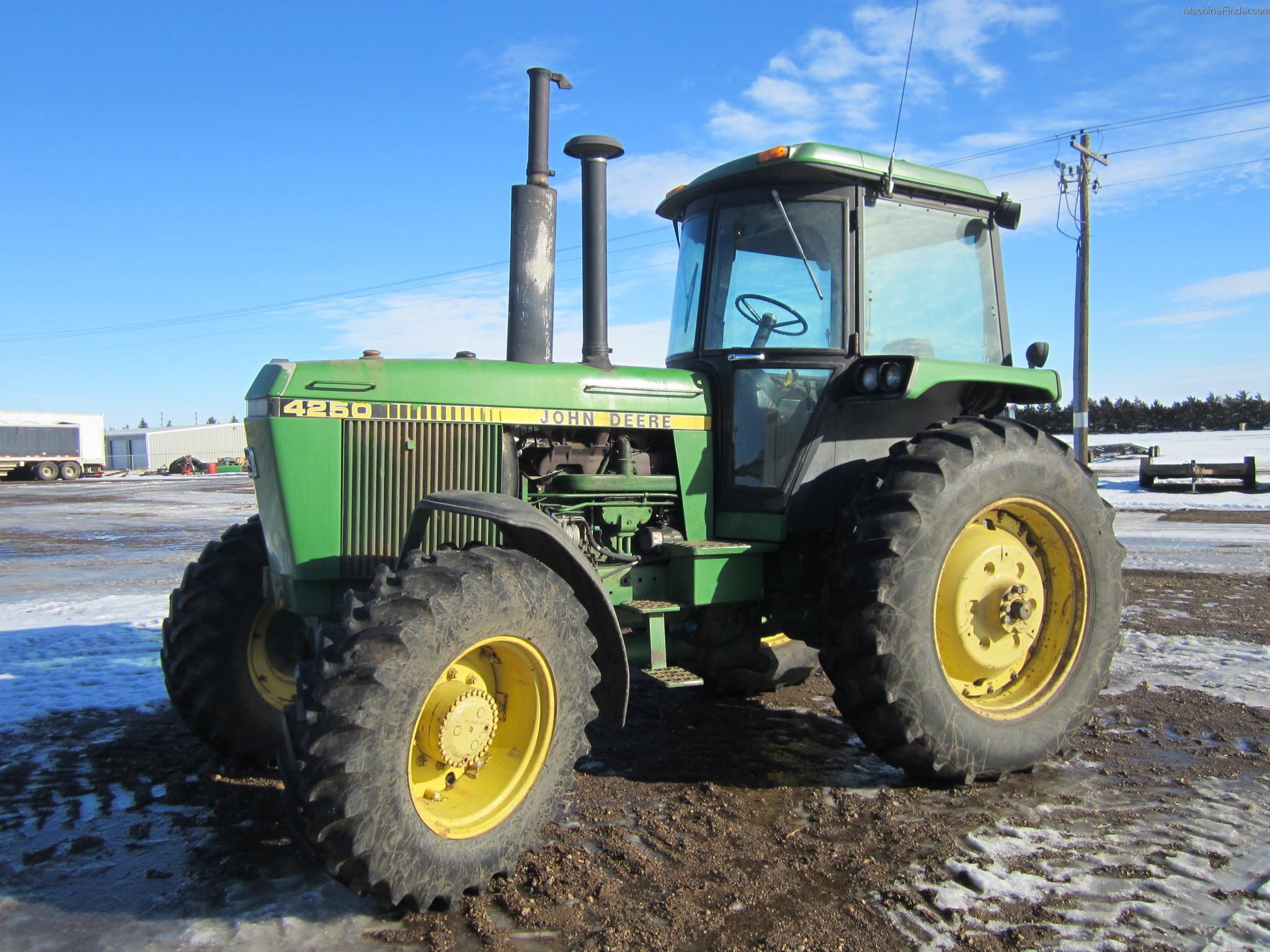 John Deere 4250 Tractors - Row Crop (+100hp) - John Deere ...