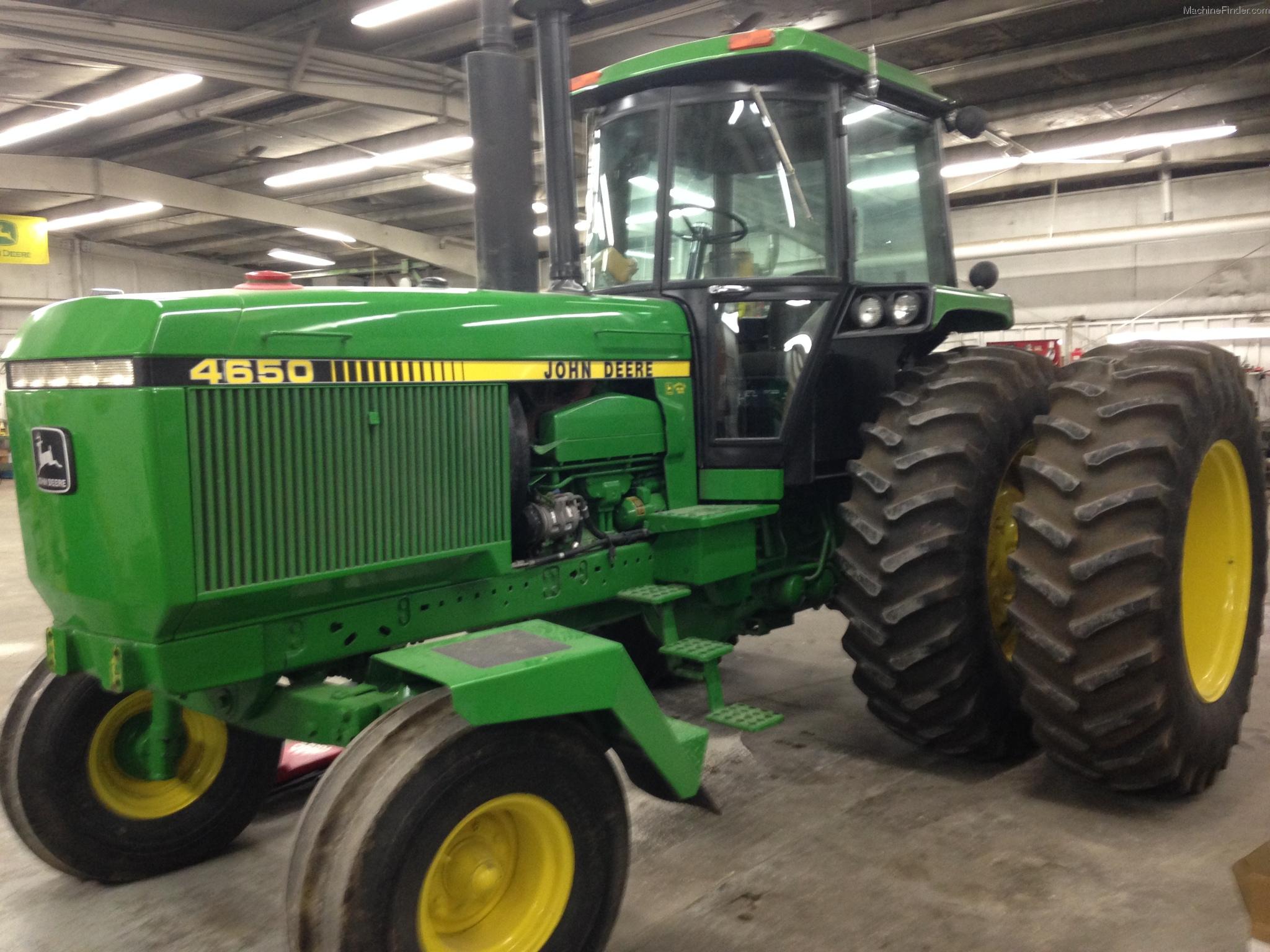 1985 John Deere 4650 Tractors - Row Crop (+100hp) - John ...