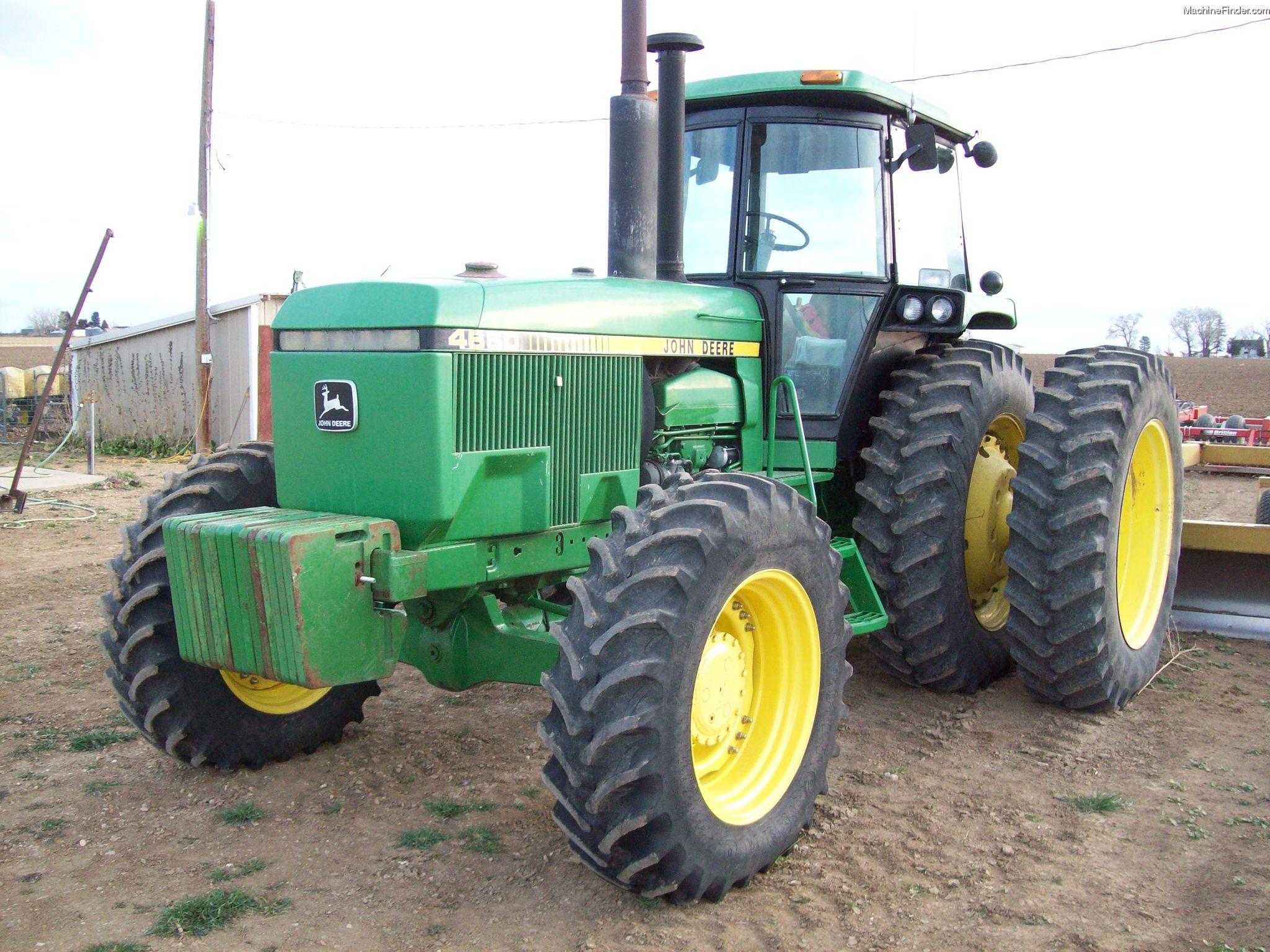 1983 John Deere 4650 Tractors - Row Crop (+100hp) - John ...
