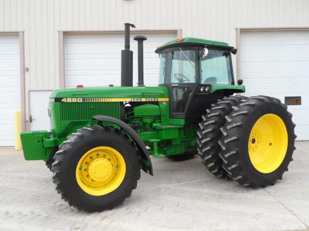 Wisconsin Ag Connection - John Deere 4650 100-174 HP ...