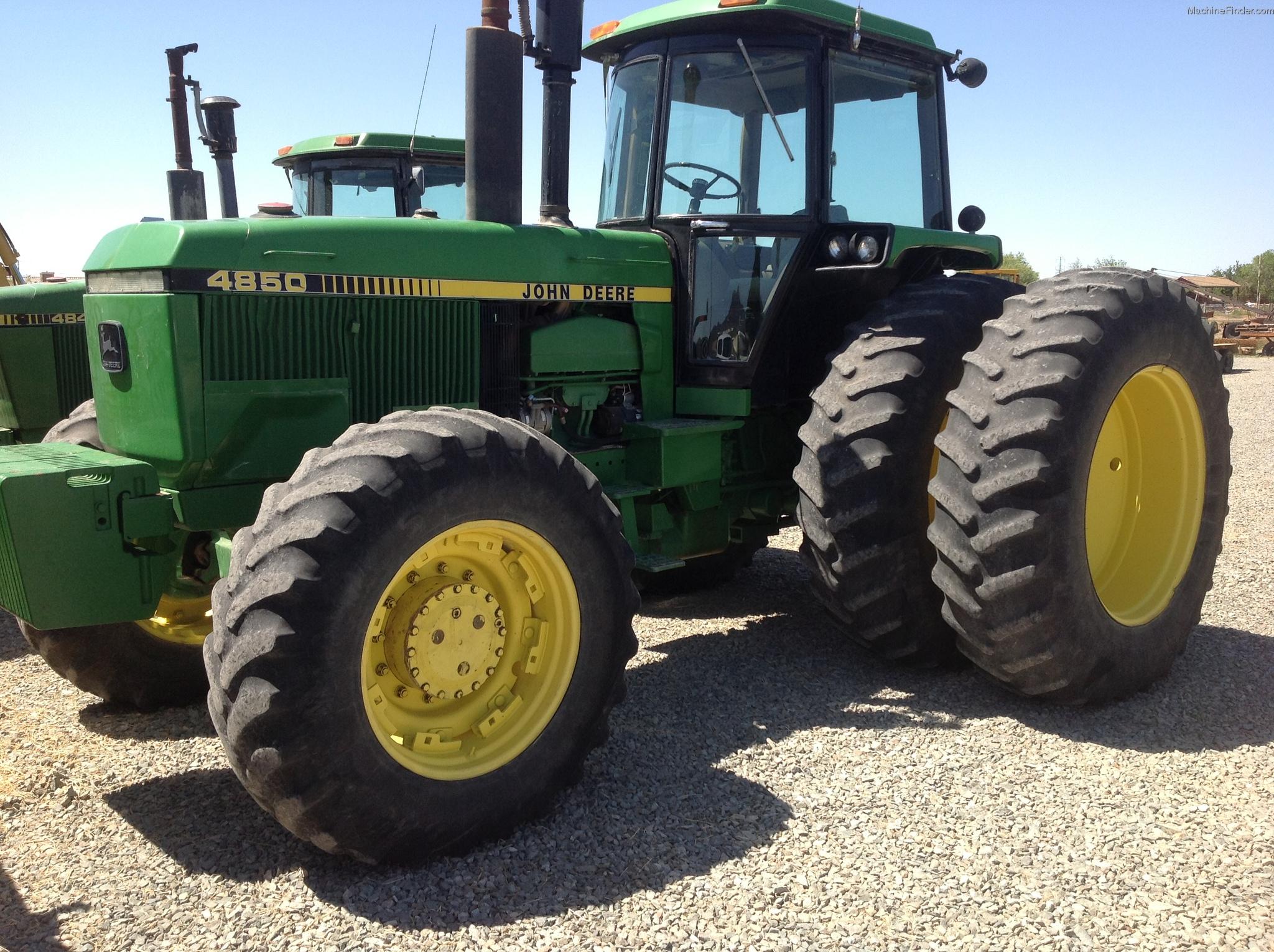 1987 John Deere 4850 Tractors - Row Crop (+100hp) - John ...