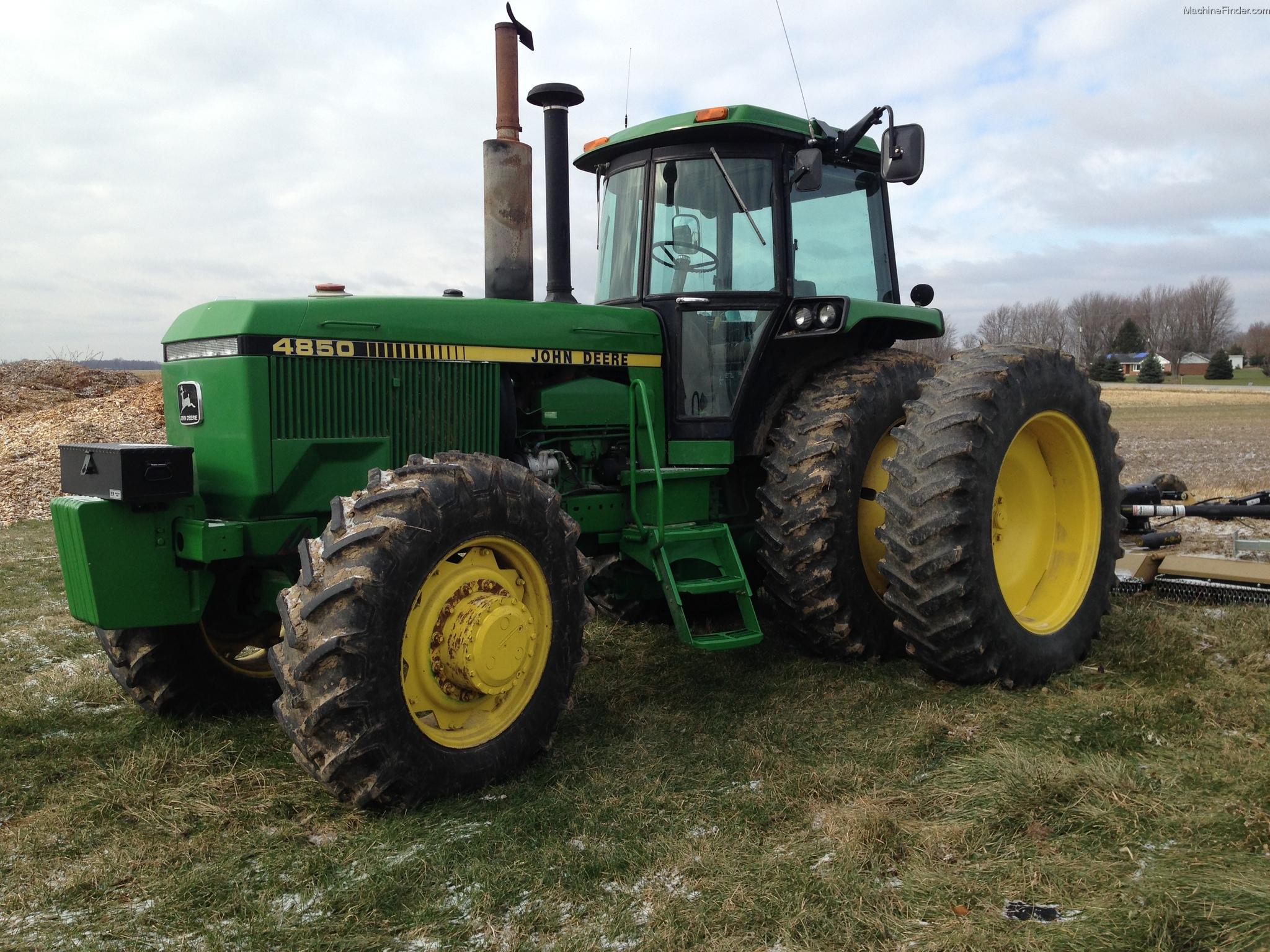 1984 John Deere 4850 Tractors - Row Crop (+100hp) - John ...