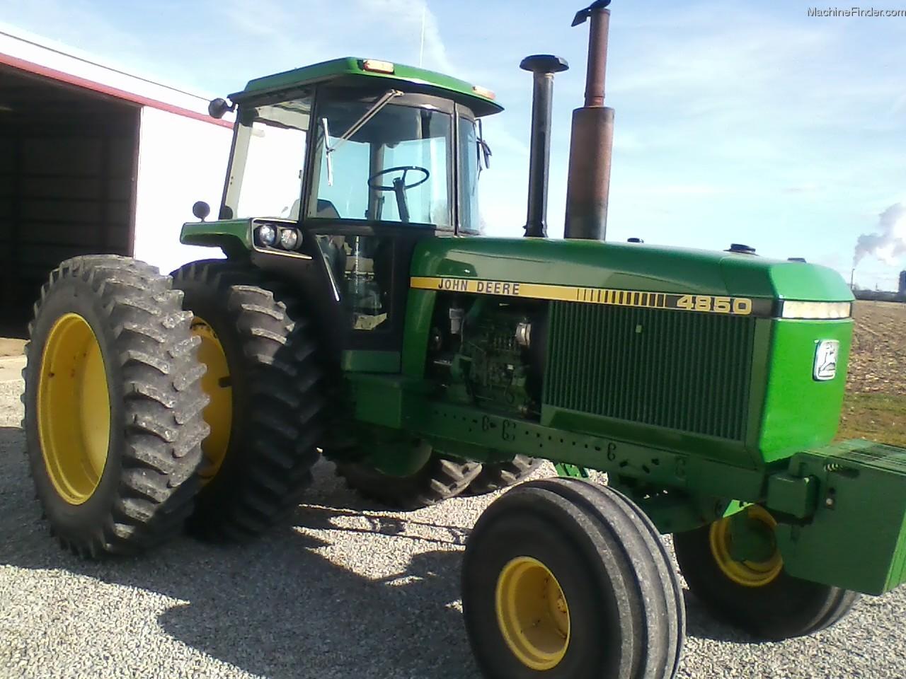 1985 John Deere 4850 Tractors - Row Crop (+100hp) - John ...