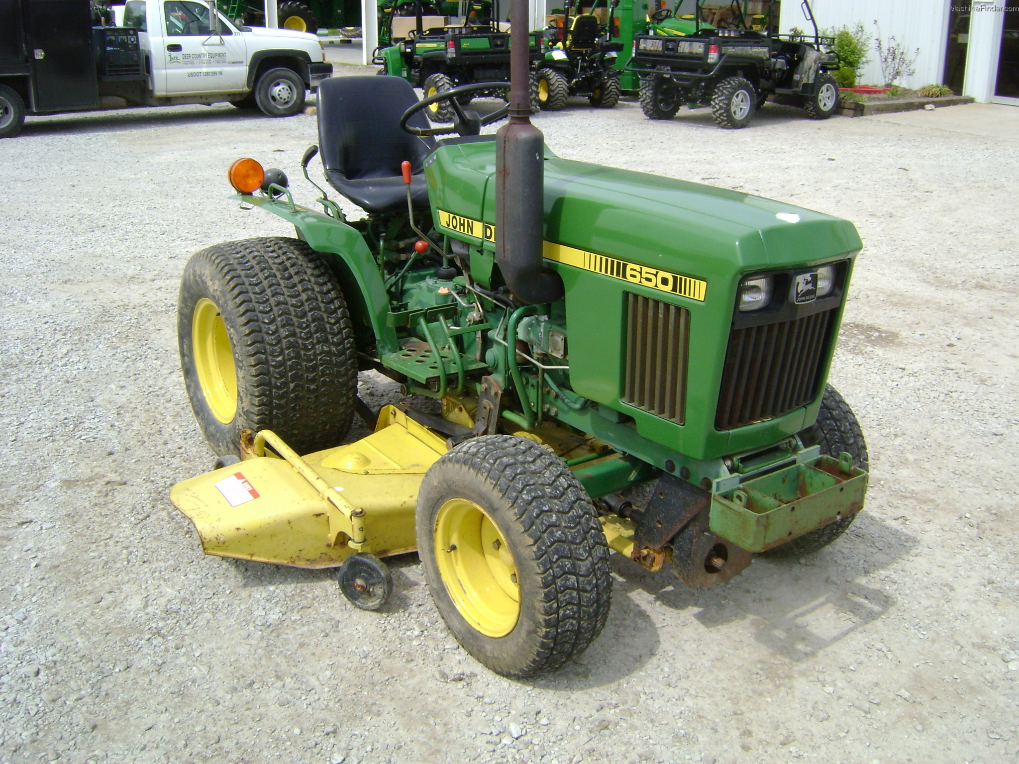 1983 John Deere 650 Tractors - Compact (1-40hp.) - John ...