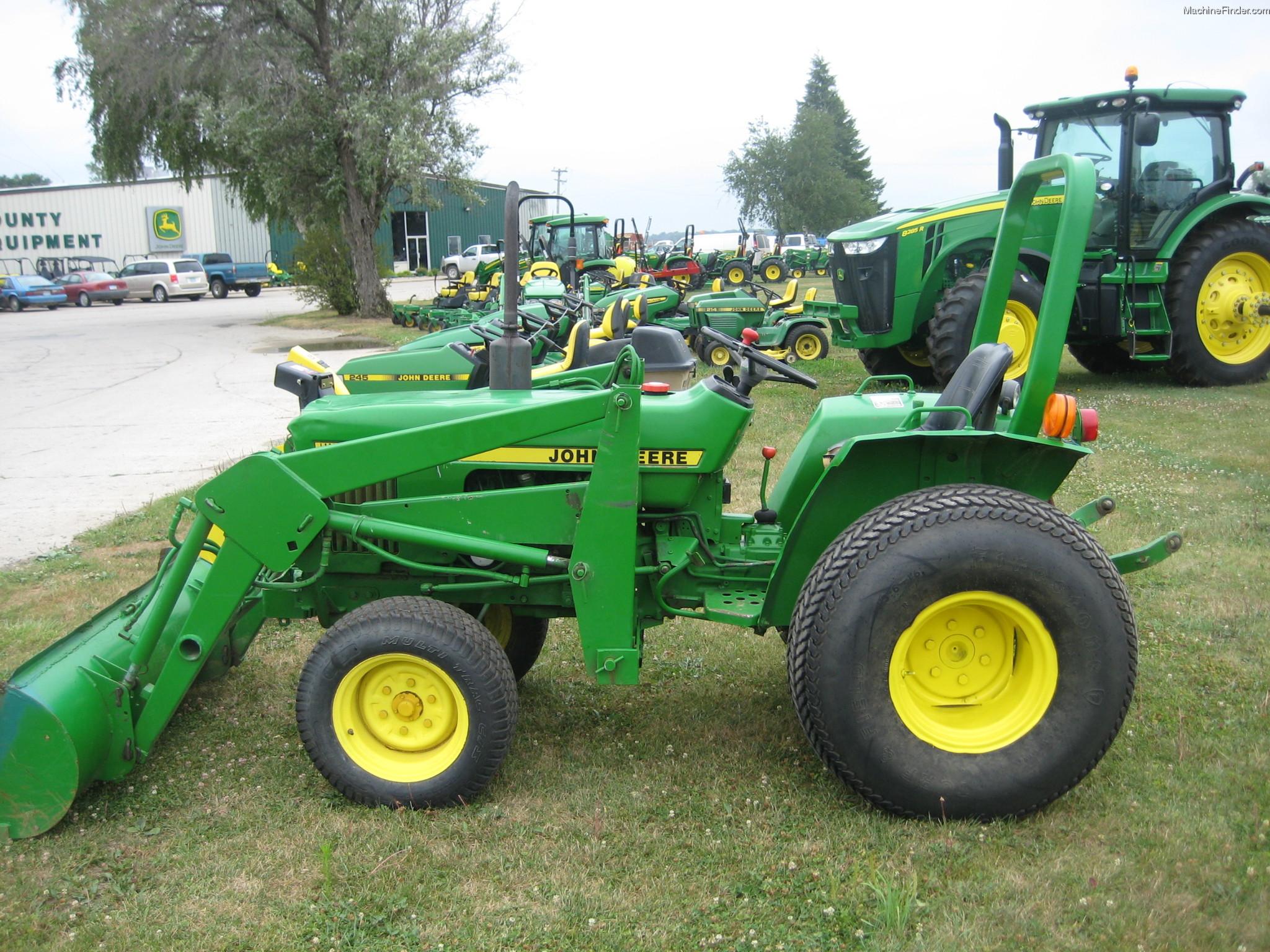 1984 John Deere 750 Tractors - Compact (1-40hp.) - John ...