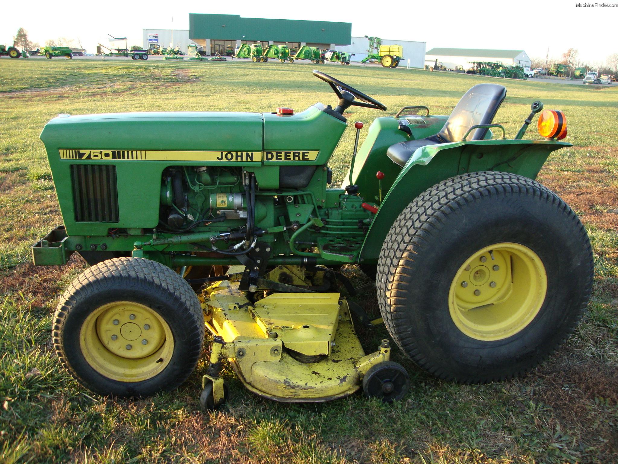 1983 John Deere 750 Tractors - Compact (1-40hp.) - John ...