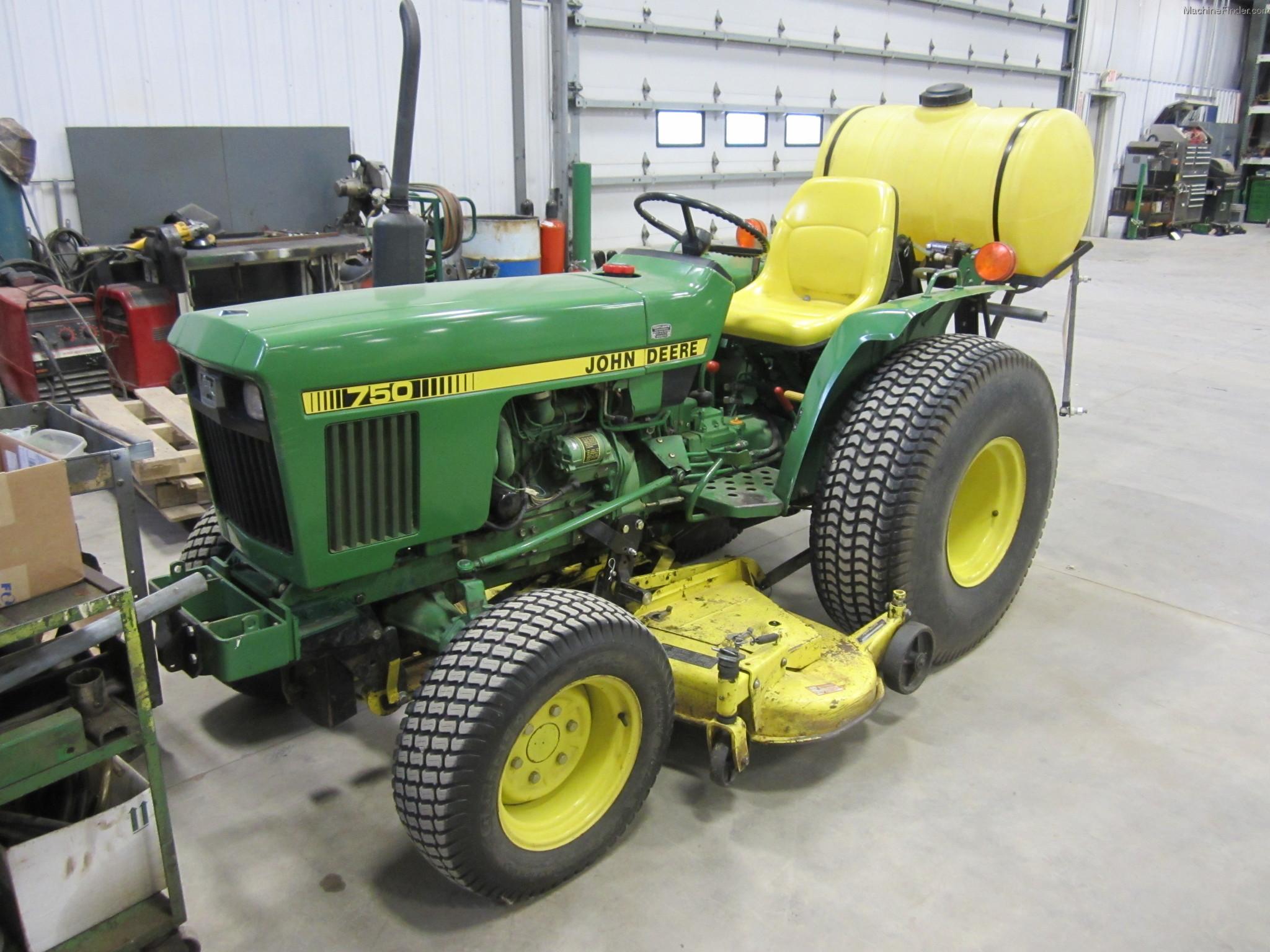 1985 John Deere 750 Tractors - Compact (1-40hp.) - John ...