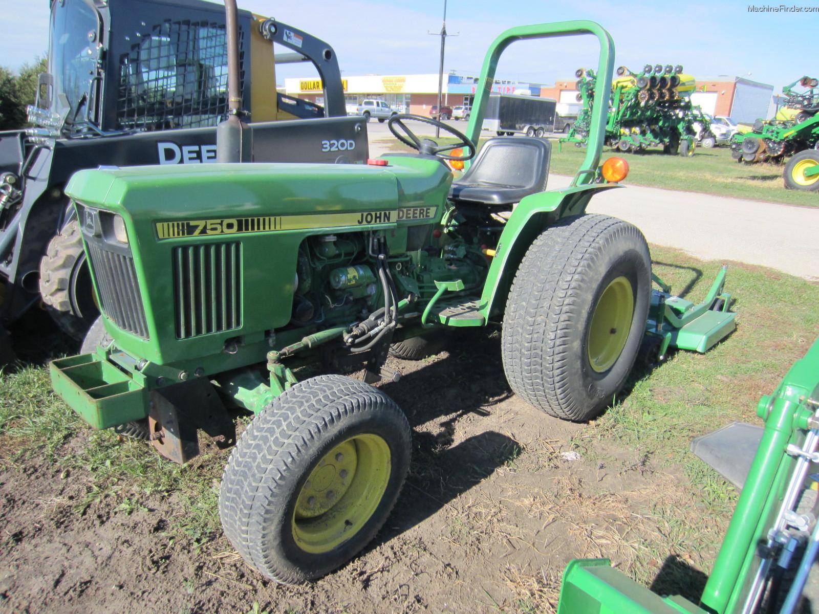 John Deere 750 Tractors - Utility (40-100hp) - John Deere ...