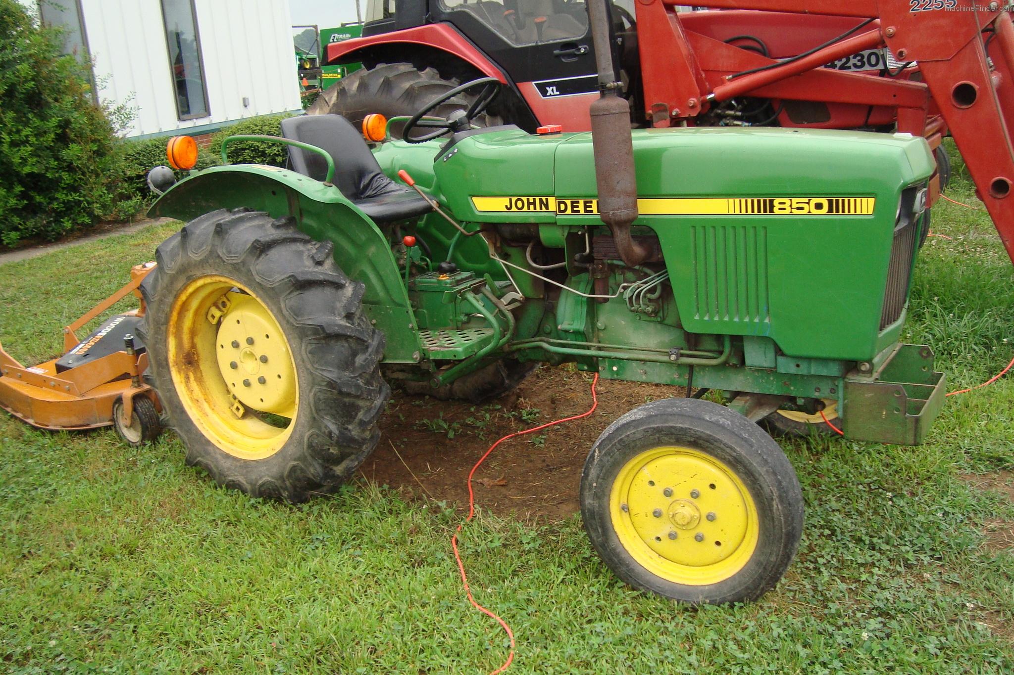 1983 John Deere 850 Tractors - Compact (1-40hp.) - John ...