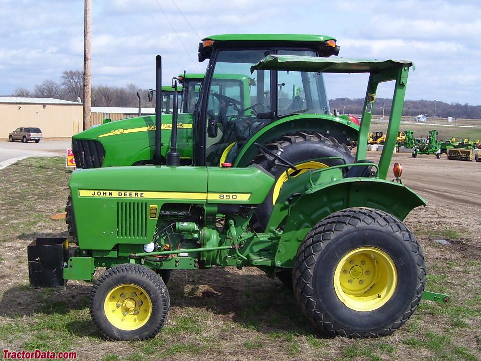 TractorData.com John Deere 850 tractor photos information