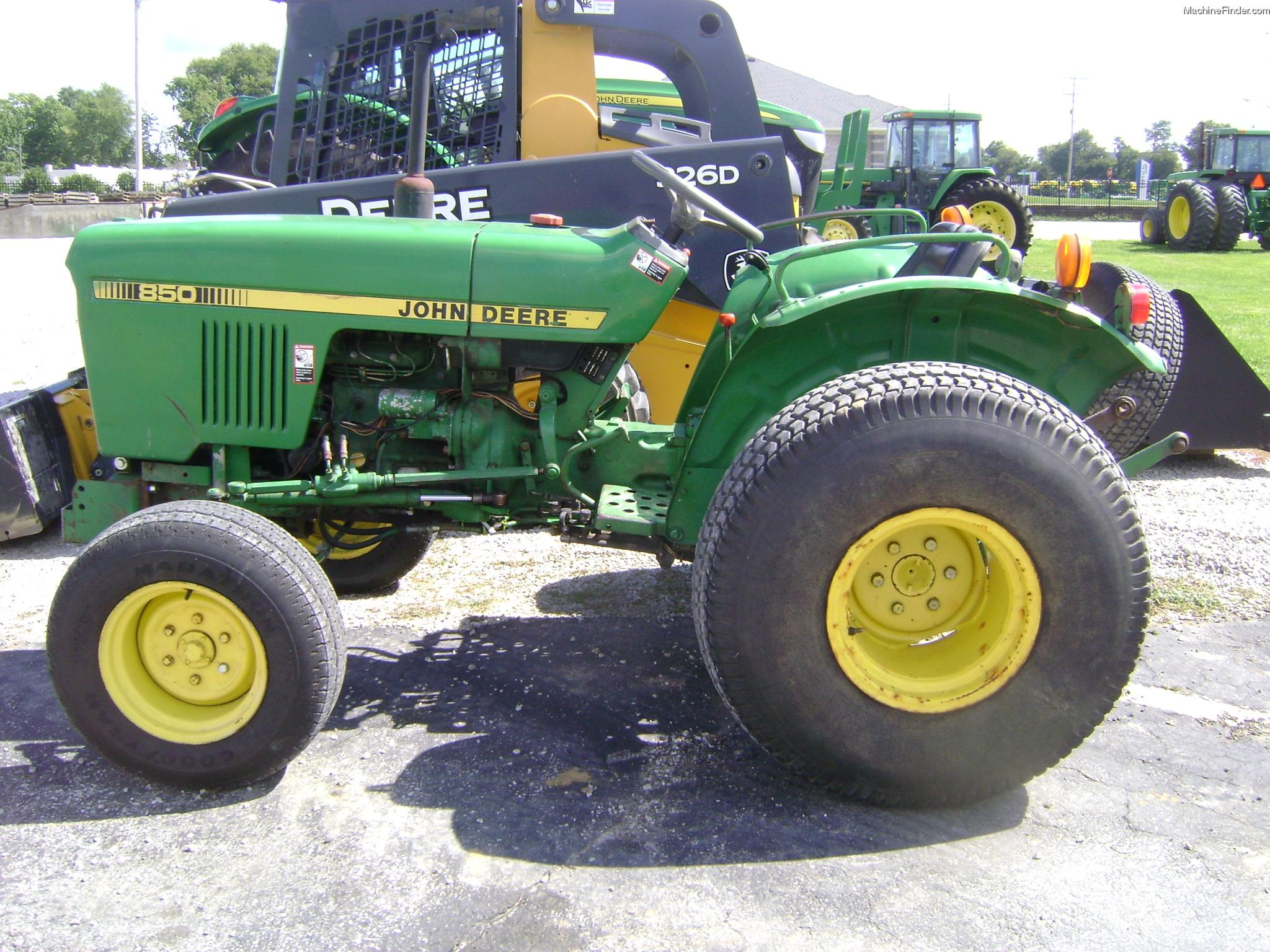 1979 John Deere 850 Tractors - Utility (40-100hp) - John ...
