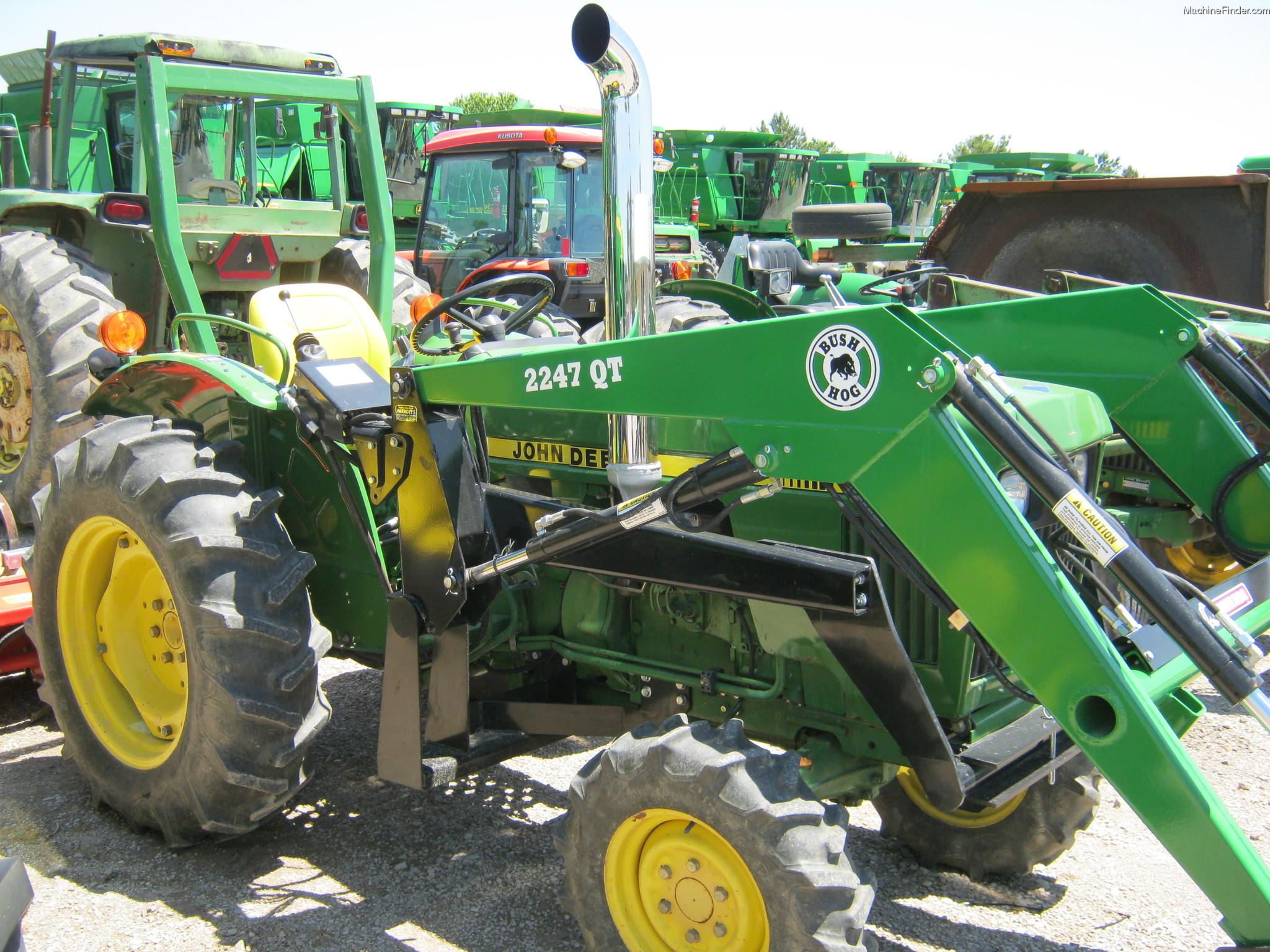 1986 John Deere 850 Tractors - Compact (1-40hp.) - John ...