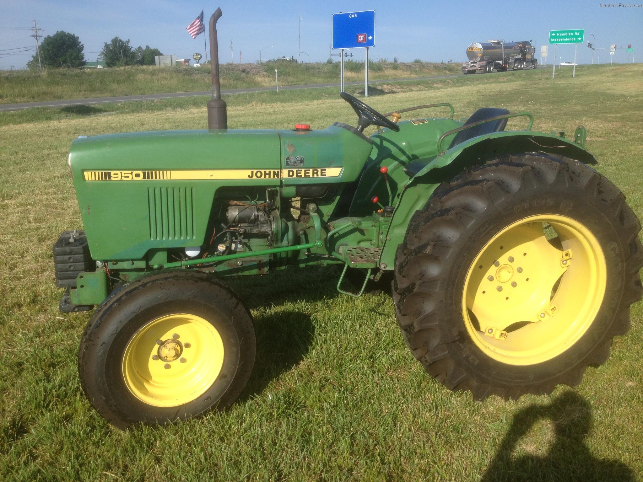 1982 John Deere 950 Tractors - Compact (1-40hp.) - John ...