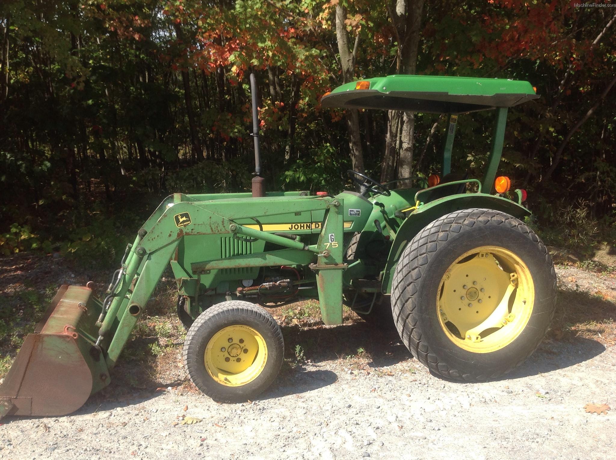 John Deere 950 Tractors - Compact (1-40hp.) - John Deere ...
