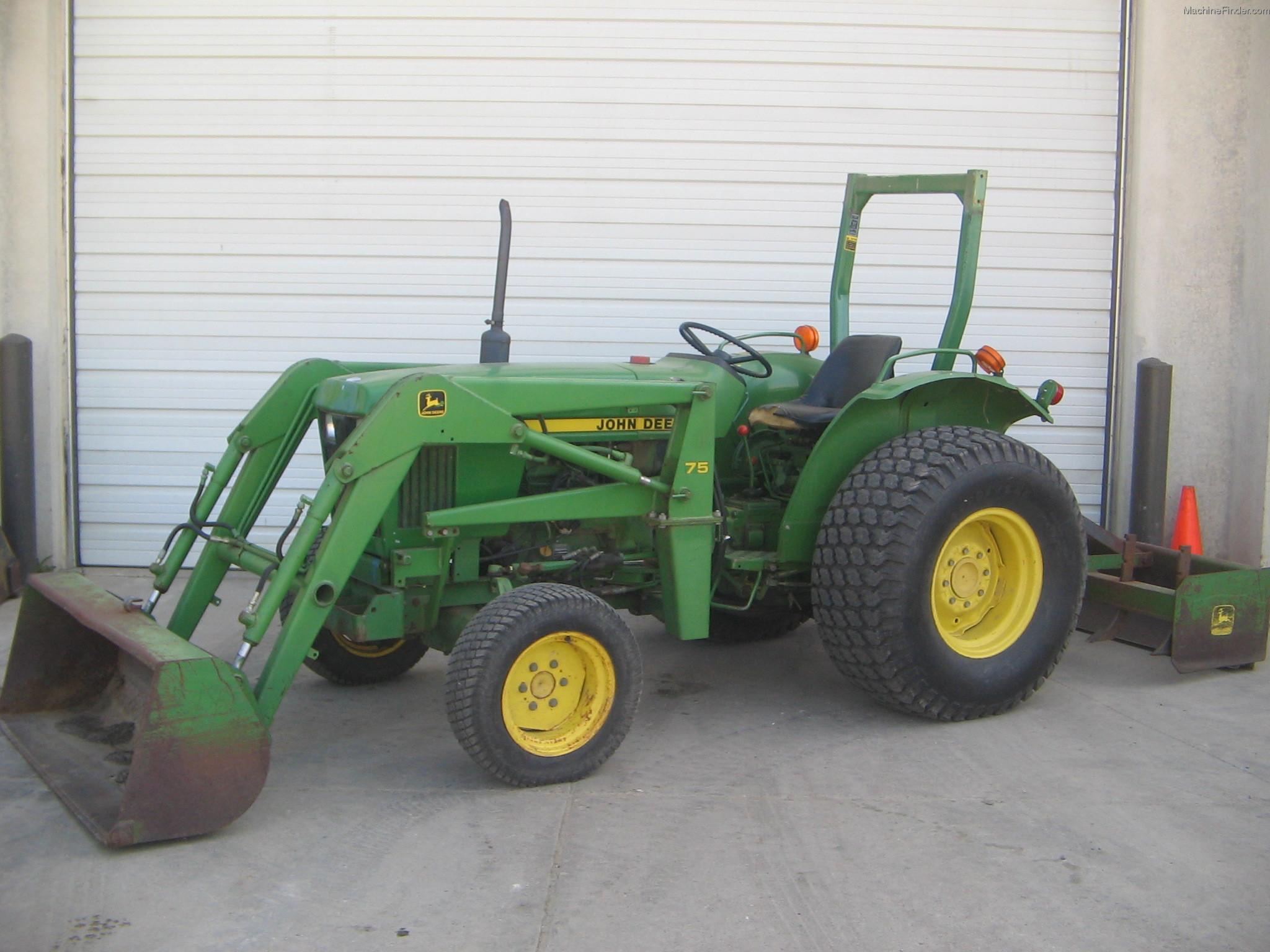 1987 John Deere 1050 Tractors - Compact (1-40hp.) - John ...