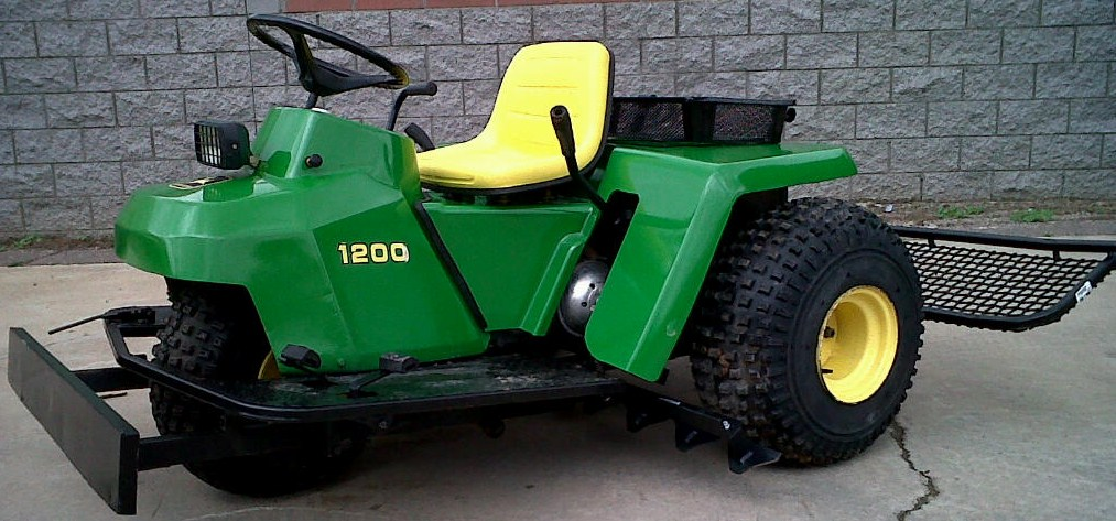 ... 1200A Turf Equipment Source - John Deere 1200A Bunker or Infield Rake