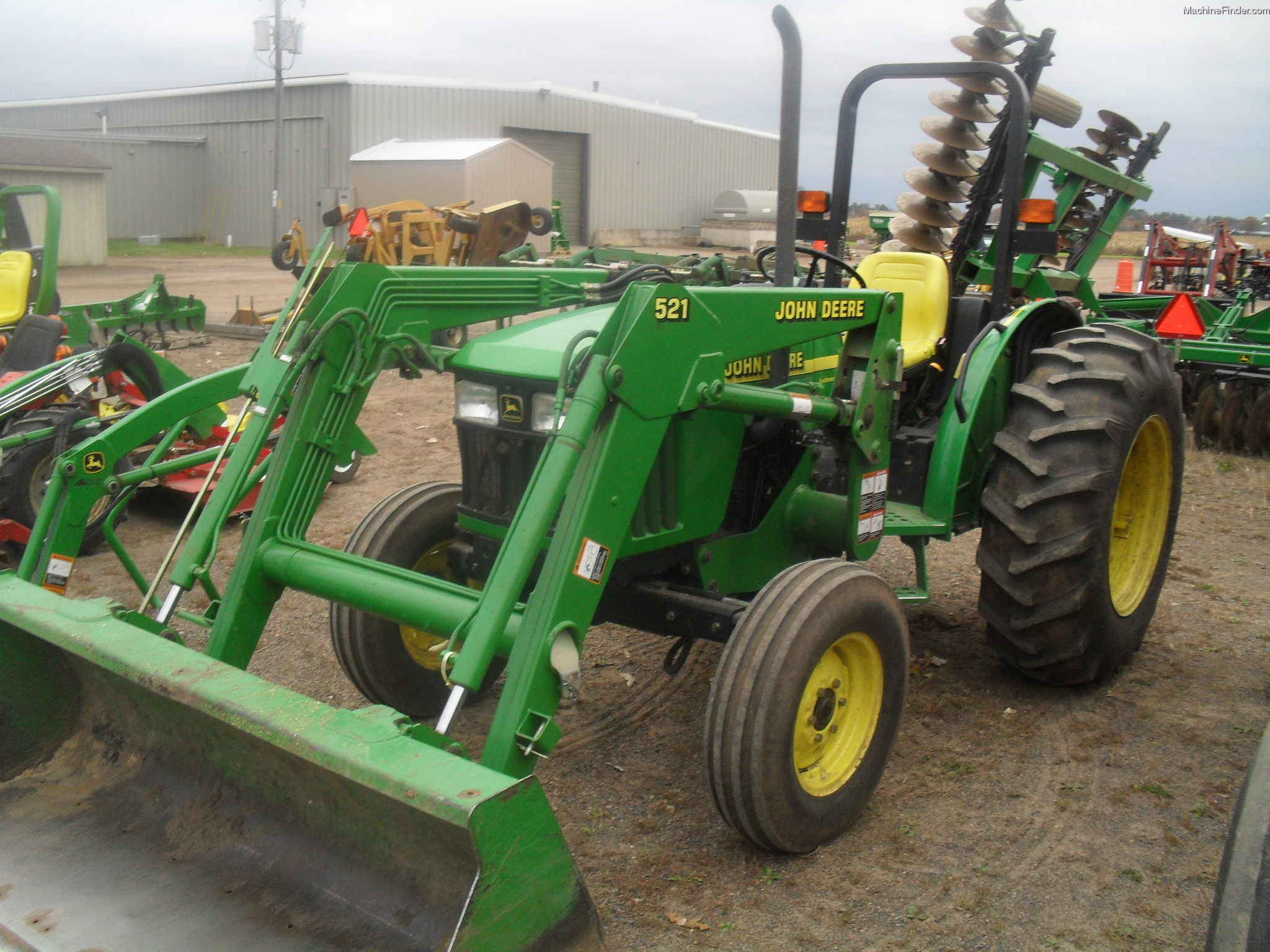 2000 John Deere 5105 Tractors - Utility (40-100hp) - John ...