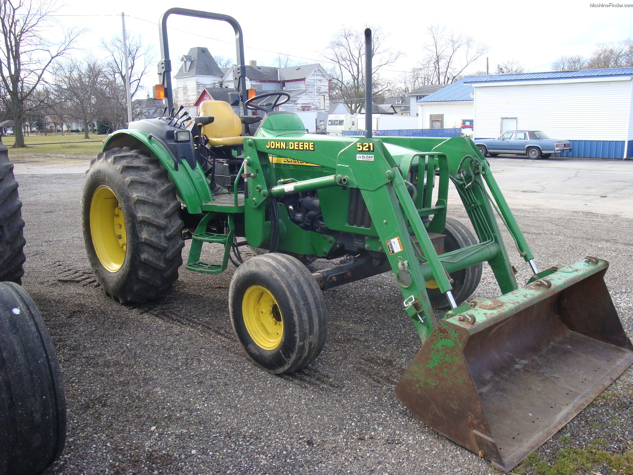 2001 John Deere 5220 Tractors - Utility (40-100hp) - John ...