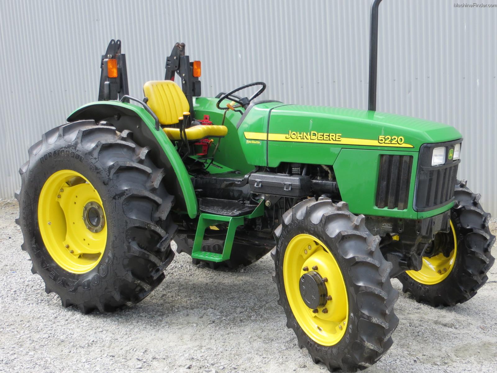 2002 John Deere 5220 Tractors - Utility (40-100hp) - John ...