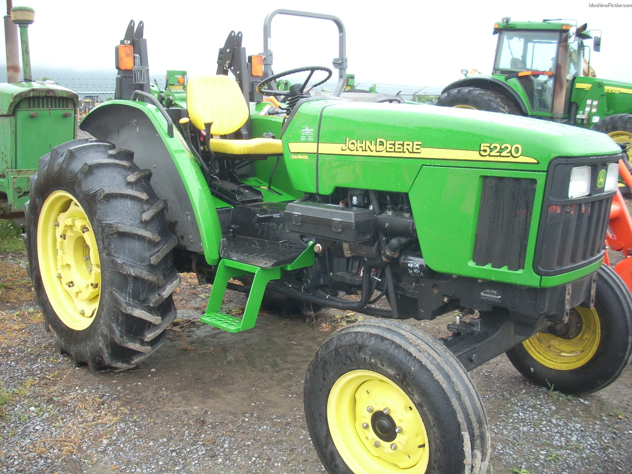 2003 John Deere 5220 Tractors - Utility (40-100hp) - John ...