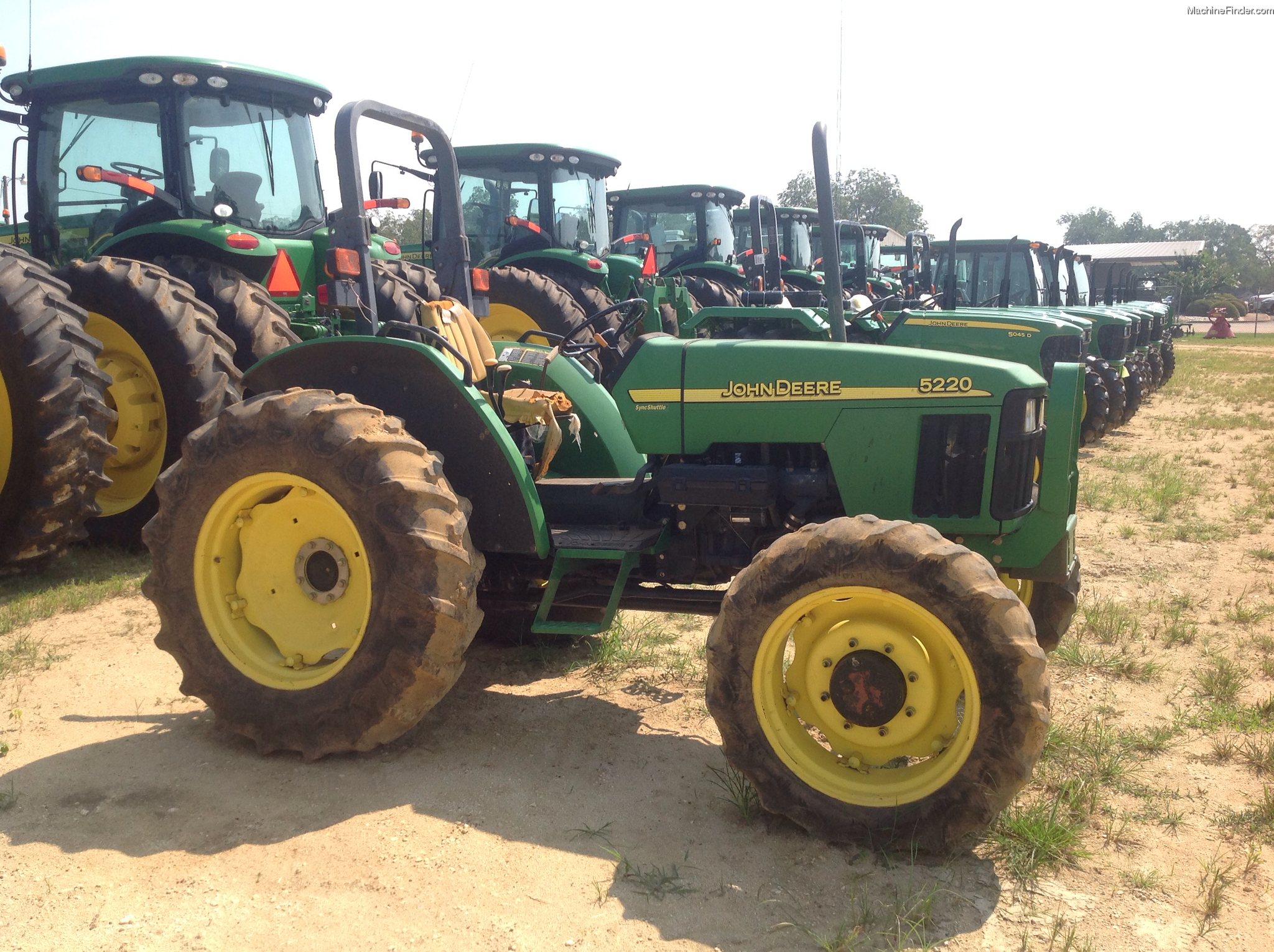 2001 John Deere 5220 Tractors - Compact (1-40hp.) - John ...