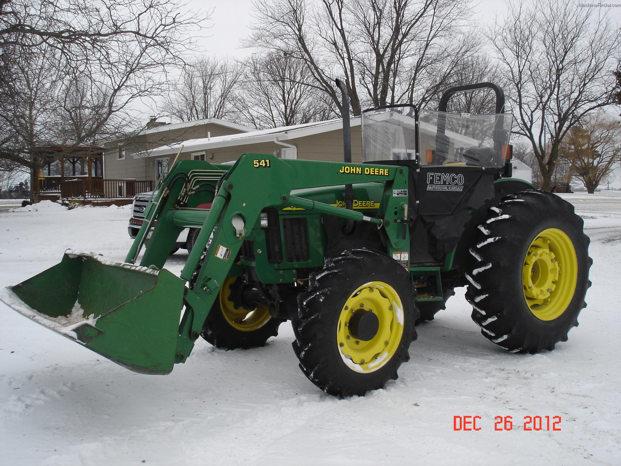 2004 John Deere 5320 Tractors - Utility (40-100hp) - John ...