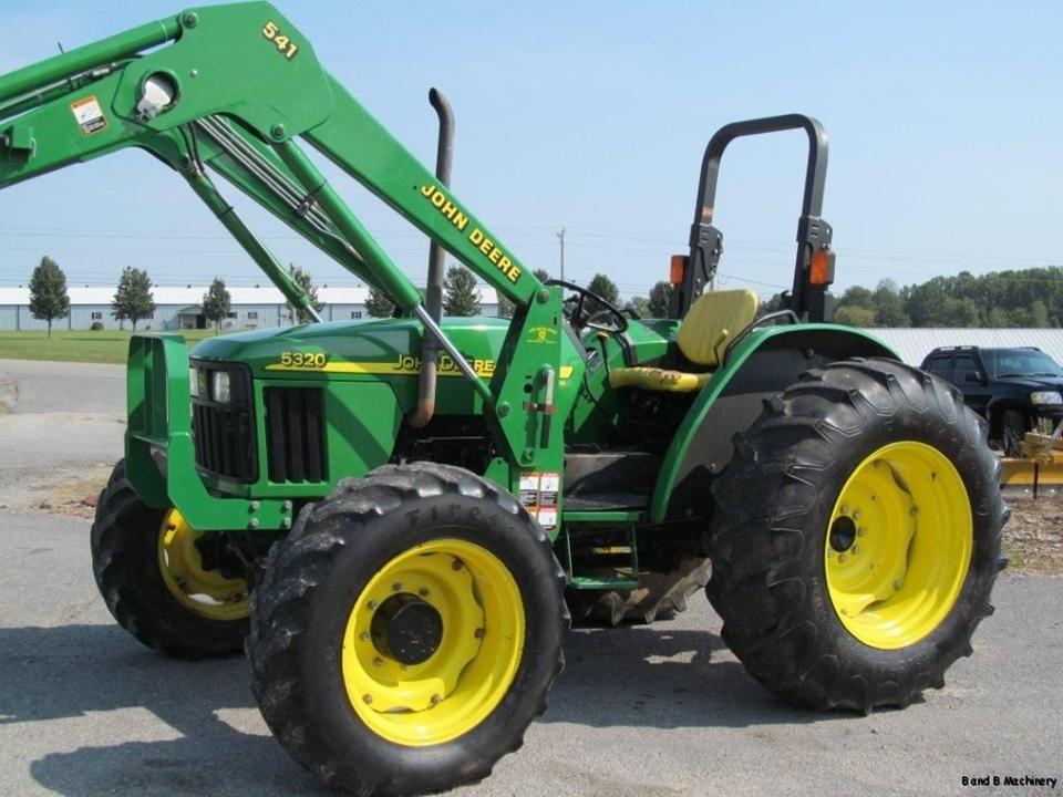 John Deere 5320 Diesel Farm 4X4 Tractor With Loader