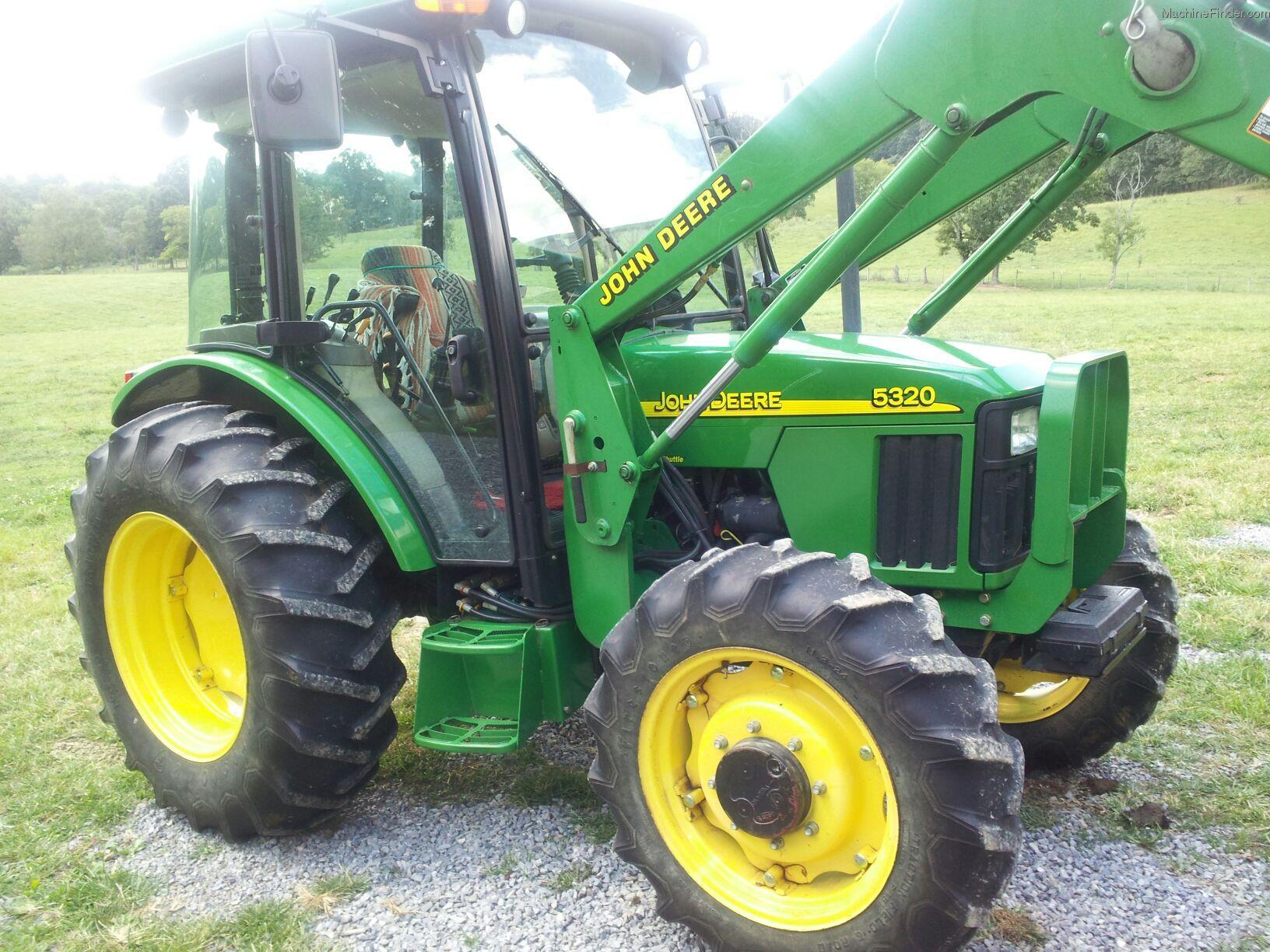 2001 John Deere 5320 Tractors - Utility (40-100hp) - John ...