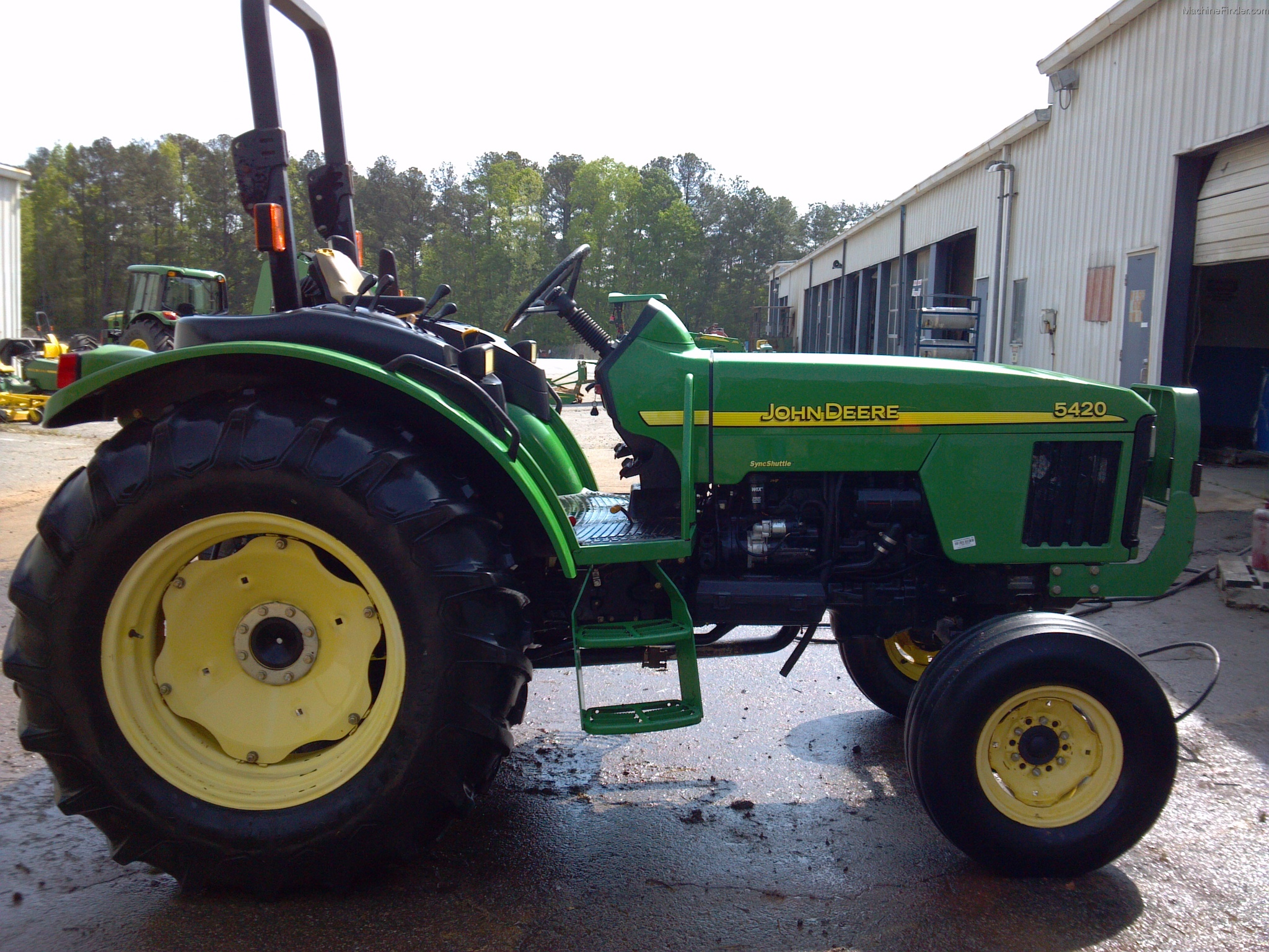 2001 John Deere 5420 Tractors - Utility (40-100hp) - John ...