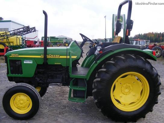 2003 John Deere 5520 Tractors - Utility (40-100hp) - John ...
