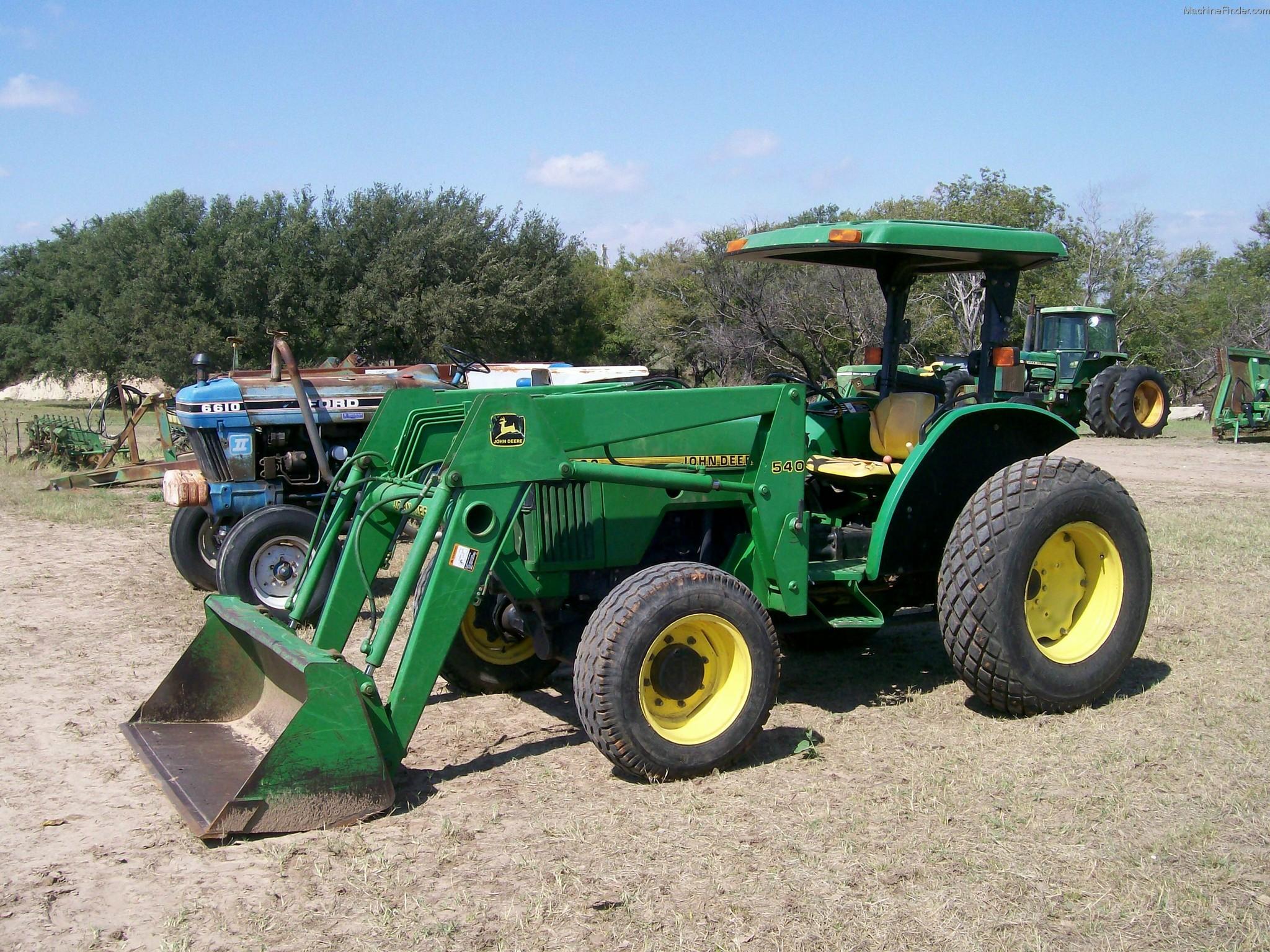 John Deere 5200 Tractors - Utility (40-100hp) - John Deere ...