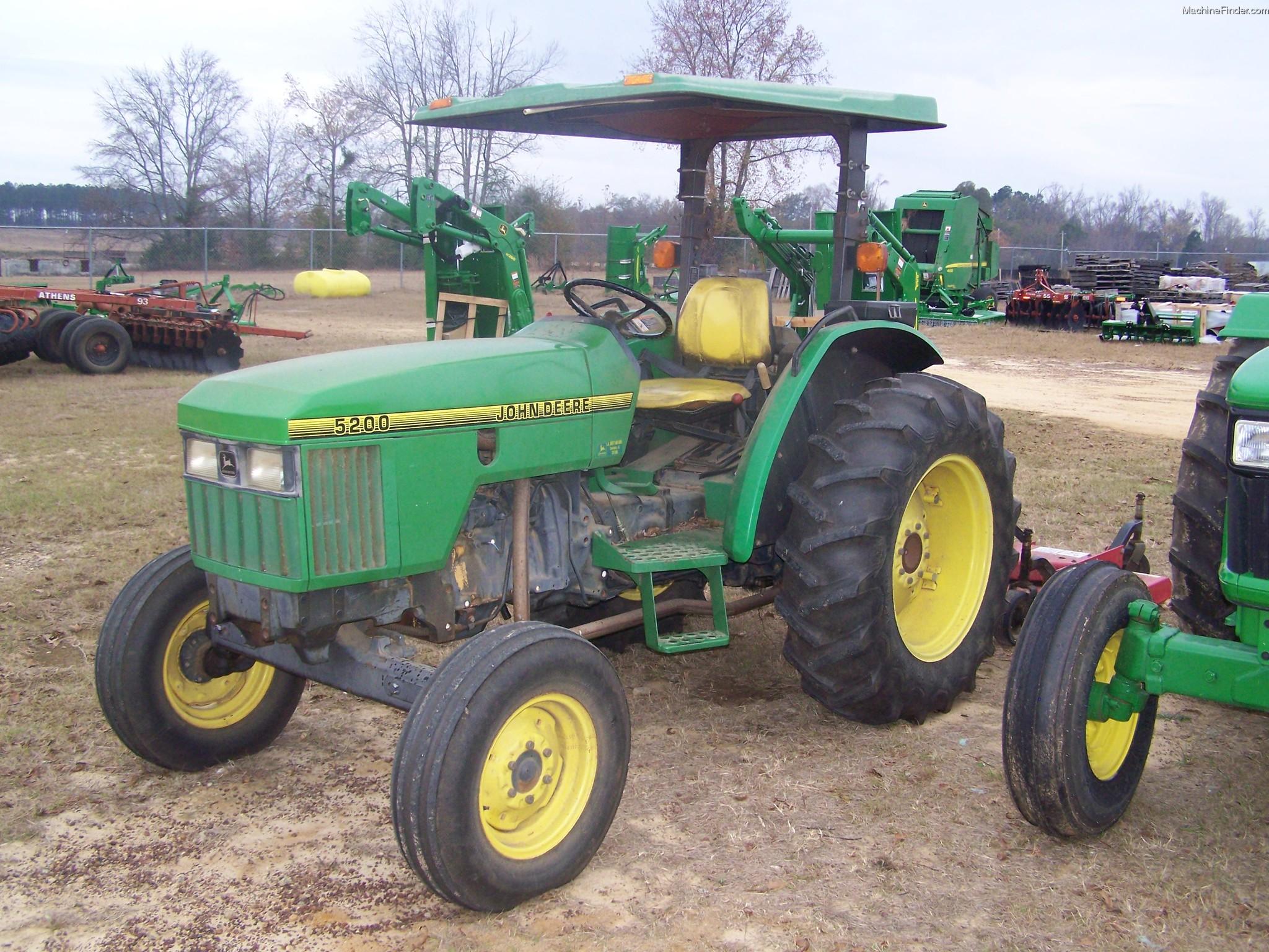 1993 John Deere 5200 Tractors - Utility (40-100hp) - John ...