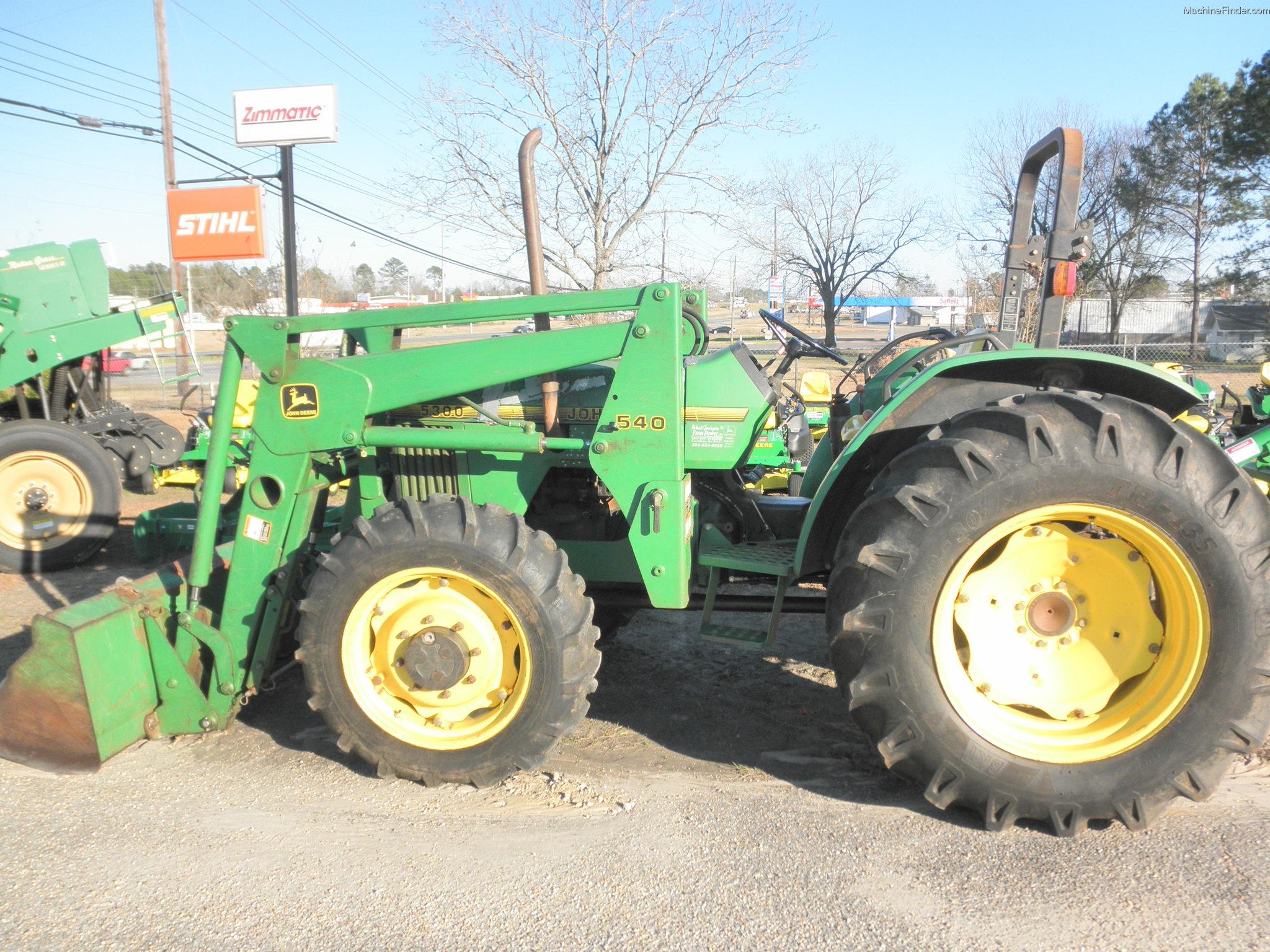 1995 John Deere 5300 Tractors - Compact (1-40hp.) - John ...