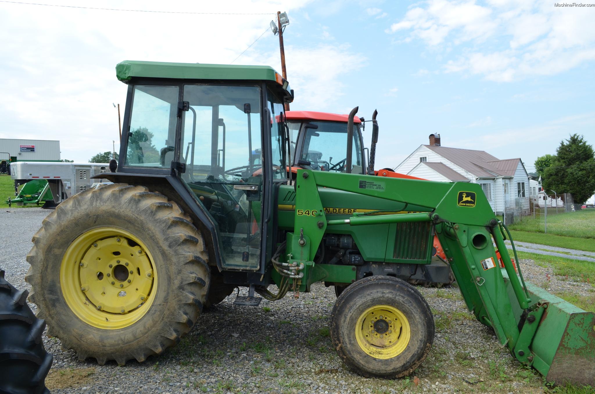 1997 John Deere 5500 Tractors - Utility (40-100hp) - John ...