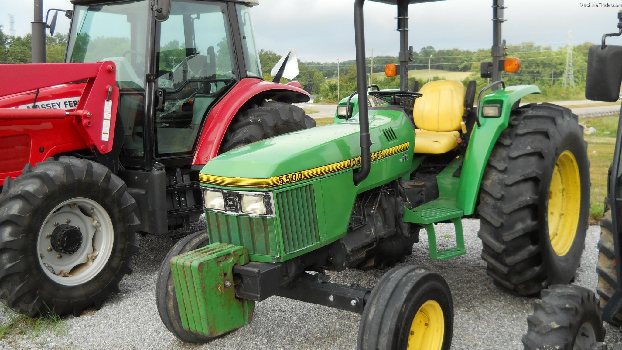 1996 John Deere 5500 Tractors - Utility (40-100hp) - John ...