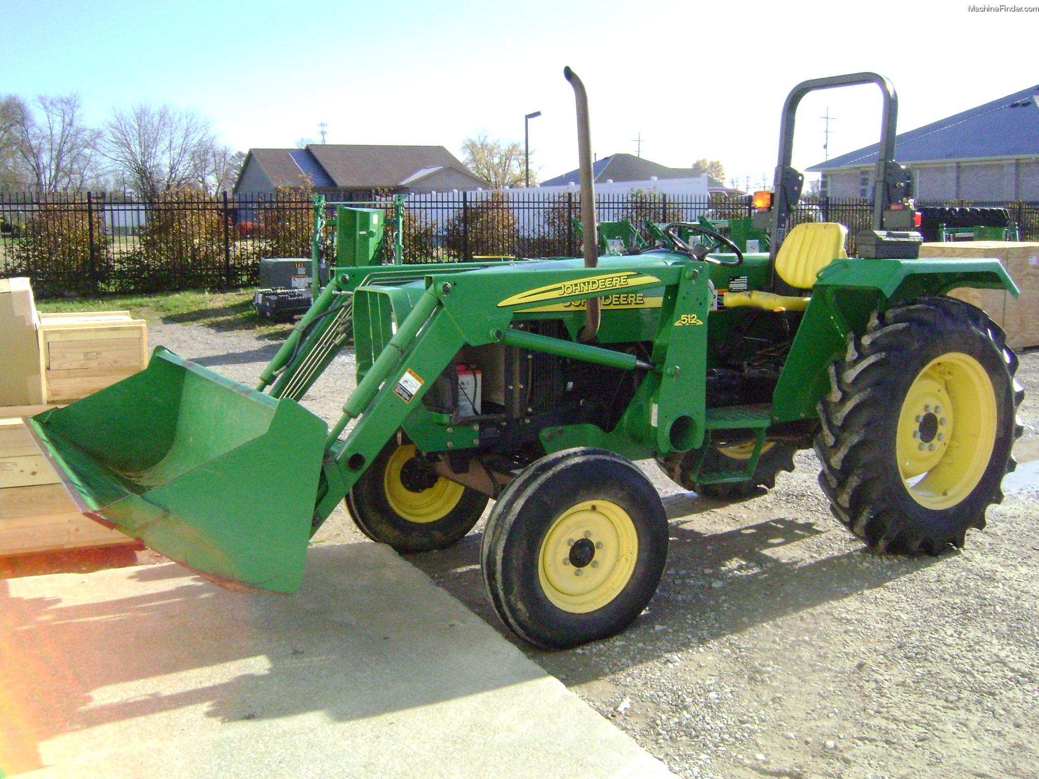 2005 John Deere 5103 Tractors - Utility (40-100hp) - John ...
